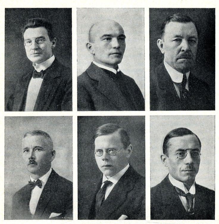 6. Maanõukogu juhatus, valitud Maanõukogu koosolekul 27. novembril 1918
